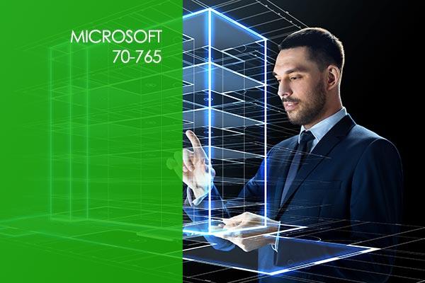 Microsoft 70-765 SQL Server 2016 Provisioning SQL Databases