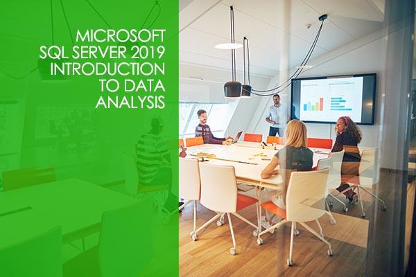 Microsoft SQL Server 2019 - Introduction to Data Analysis